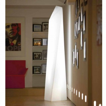 Lampa zewnętrzna Prisma Slide Manhattan luminous white made in Italy