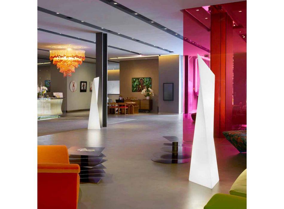 Lampa zewnętrzna Prisma Slide Manhattan luminous white made in Italy