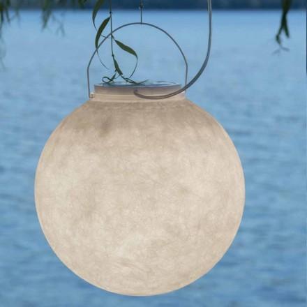 Lampa zewnętrzna do zawieszenia In-es.artdesign Luna Out w nebulicie
