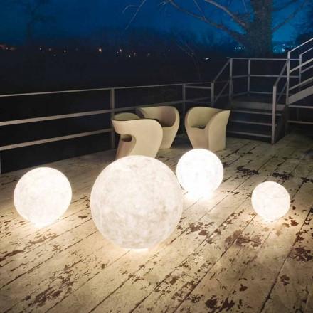 Lampa stojąca zewnętrzna In-es.artdesign Ex.Moon w nebulicie