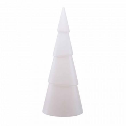 Nowoczesna, biała, czerwona lub zielona wewnętrzna lub zewnętrzna lampa podłogowa - Alberostar