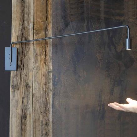 Ręcznie wykonany kinkiet z żelazną konstrukcją Made in Italy - Solana