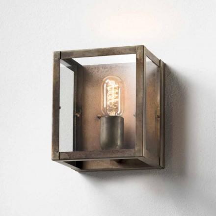 Lampa ścienna z żelaza London od firmy Il Fanale