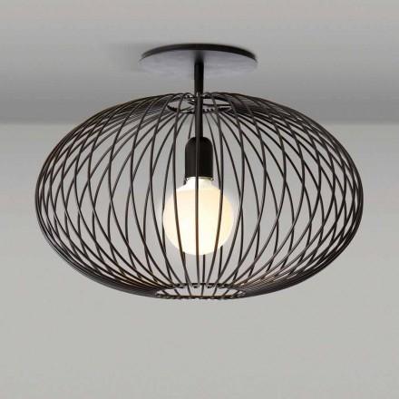 Nowoczesna lampa sufitowa z malowanej stali, 48xH 35 cm, Heila