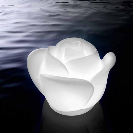 Lampa stołowa w kształcie róży z indukcyjną diodą RGBW - Baby Love firmy Myyour