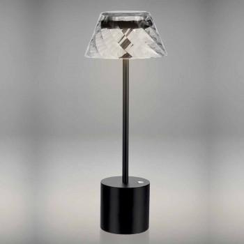 Design Touch Led Lampa stołowa z metalu i akrylu - Tagalong