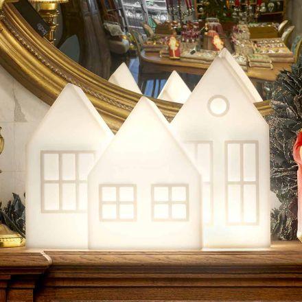 Lampa stołowa Casette Led w kolorze białym lub czerwonym Design Slide Made in Italy - Kolme