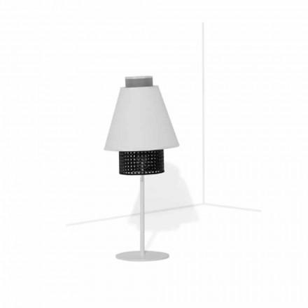 Lampa stołowa z metalową konstrukcją Nowoczesny design Made in Italy - Sailor