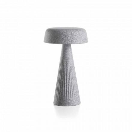 Lampa stołowa ze strukturą z polietylenu Made in Italy - Desmond