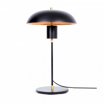 Lampa stołowa Artisan Design z żelaza i aluminium Made in Italy - Marghe