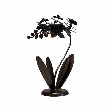 Nowoczesna lampa stołowa z żelaza, wykonana we Włoszech - Amorpha