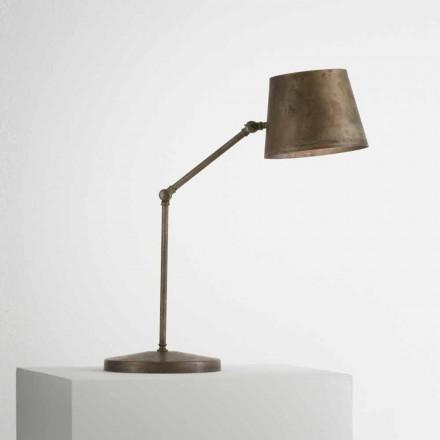 Lampa stołowa regulowana Reporter od Il Fanale