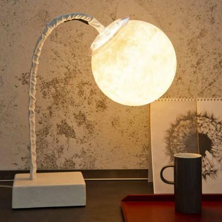 Lampa biurkowa nowoczesna elastyczna trzpień In-es.artdesign MicroT Luna