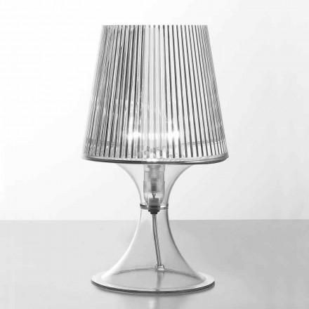 Nowoczesna poliwęglanowa lampa stołowa Frosinone