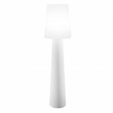 Kolorowa lampa podłogowa LED, solarna lub E27 zewnętrzna i wewnętrzna - Fungostar