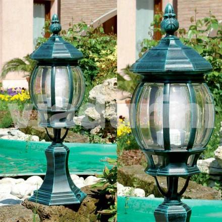Ogrodowa lampa podłogowa wykonana z aluminium, produkowana we Włoszech, Anika