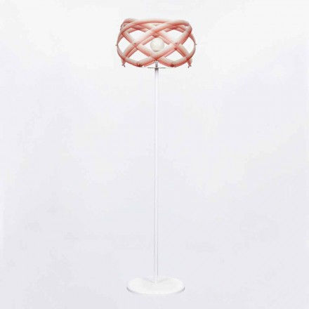 Lampa stojąca z metakrylanu z dekoracją Vanna 187 cm