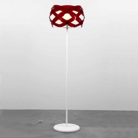 Lampa stojąca design z metakrylanu z dekoracją Vanna 187 cm