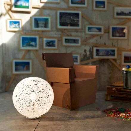 Lampa podłogowa do zewnątrz Mady, 48 cm x wys. 52 cm made in Italy