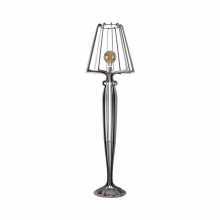 Nowoczesna żelazna lampa podłogowa Made in Italy - Giunone