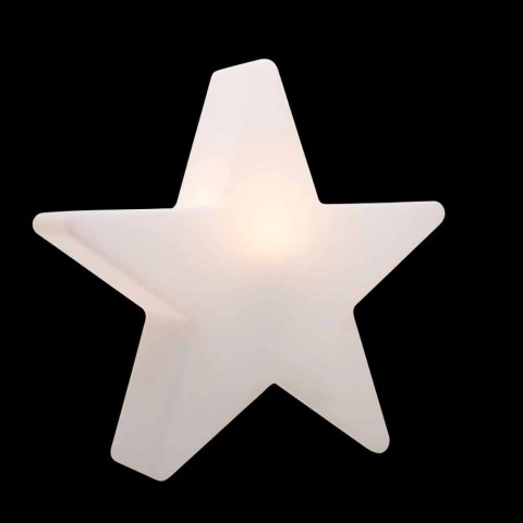 Biała lub czerwona lampa podłogowa w kształcie gwiazdy, nowoczesny design - Ringostar