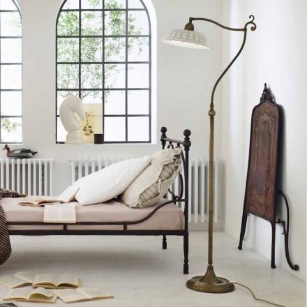 Lampa podłogowa styl liberty z ceramiki Anita od Il Fanale