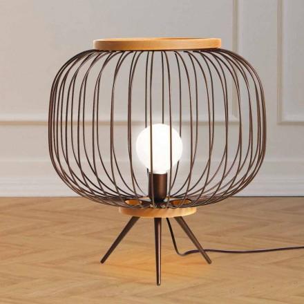 Nowoczesna lampa podłogowa ze stali 48xH 52 cm Leira