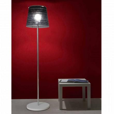 Lampa stojąca z dekoracją Shana wys. 183 cm