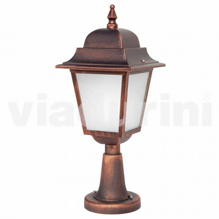 Zewnętrzna lampa podłogowa wykonana z aluminium, wyprodukowana we Włoszech, Aquilina