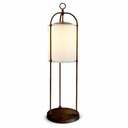 Lampa stojąca do zewnątrz z mosiądzu Pitosforo