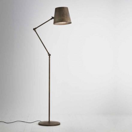 Lampa podłogowa regulowana Reporter Il Fanale