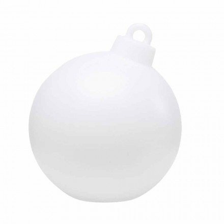 Lampa dekoracyjna do wnętrz lub na zewnątrz Czerwony, biały Bombka - Pallastar