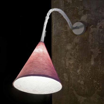 Projektant kinkiet In-es.artdesign Jazz A Stripe w kolorze wełny