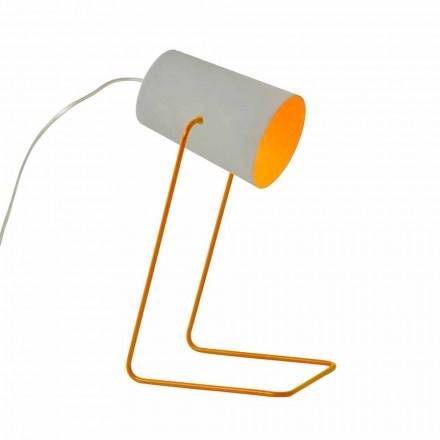 Lampa stołowa design In-es.artdesign Farba T efekt betonu