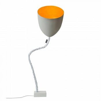 Design lampa podłogowa In-es.artdesign Flower Painted cement