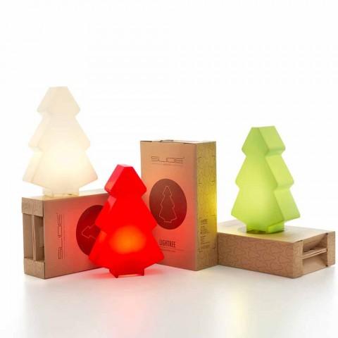 Dekoracyjna lampa zewnętrzna Slide Lightree Choinka wykonana we Włoszech