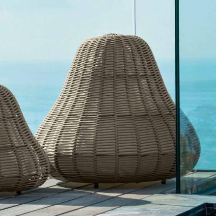 Duża lampa z nowoczesnym designem Jackie by Talenti z syntetycznego sznurka