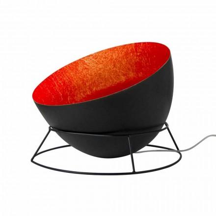 In-es.artdesign H2o F w kolorze stali i nebulitowa lampa podłogowa