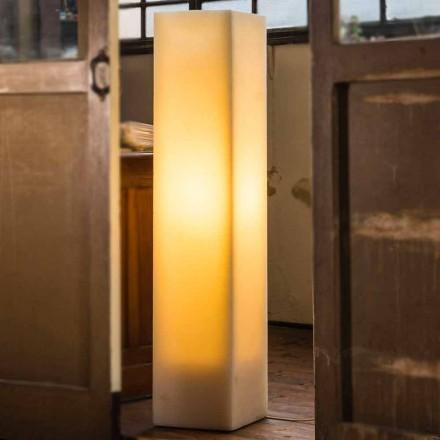 Lampa woskowa z efektem porysowania i wykonana we Włoszech Design - Dalila