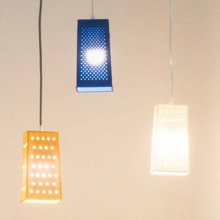 Lampa wisząca z laprenu In-es.artdesign Cacio & Pepe 2 kolorowe