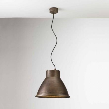 Lampa wisząca z żelaza średnia Loft od Il Fanale