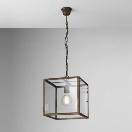 Lampa wisząca z żelaza model London by Il Fanale