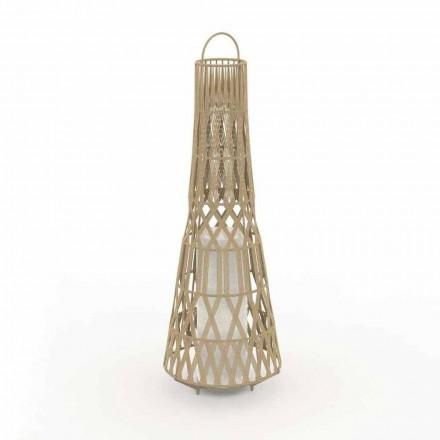 Ogrodowa lampa podłogowa Led Design w sznurze, 3 rozmiary - Tribal firmy Talenti
