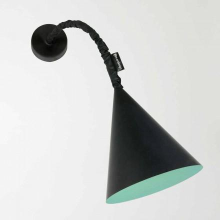 Nowoczesna lampa ścienna In-es.artdesign Jazz z tablicą z żywicy