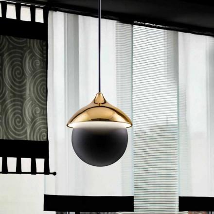 Lampa nowoczesna wisząca z ceramiki I Lustri 9