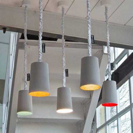 Nowoczesna lampa wisząca In-es.artdesign Farba Malowany beton