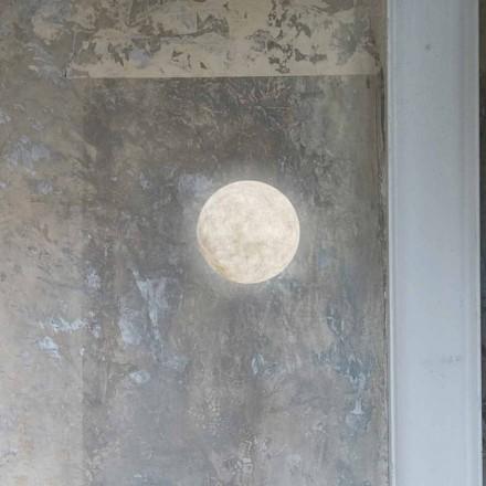 Nowoczesna kinkiet In-es.artdesign A. Księżyc w nebulicie