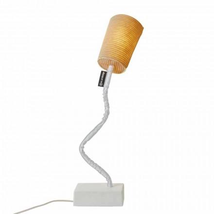 Nowoczesna lampa stołowa In-es.artdesign Paint T Stripe z wełny