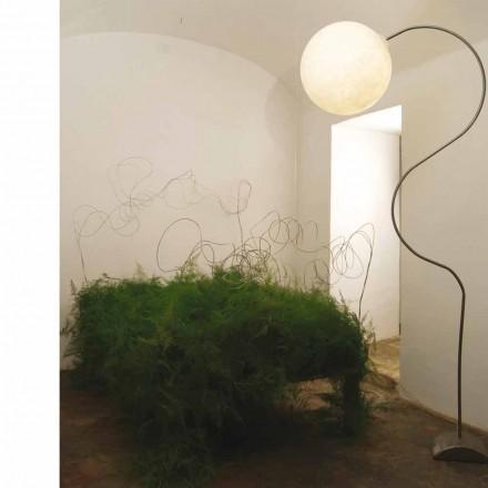 Nowoczesna biała lampa podłogowa nebulit In-es.artdesign Luna H210cm