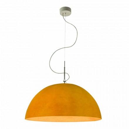 Nowoczesna lampa In-es.artdesign Mezza Luna Nebulit zawieszony
